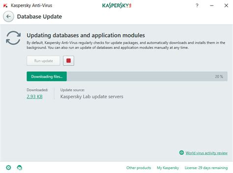 how to update anti virus databases in kaspersky anti virus how to update kaspersky anti virus 2017