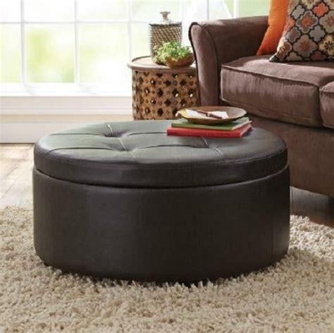 circle ottoman storage circle ottoman with storage best storage design 2017