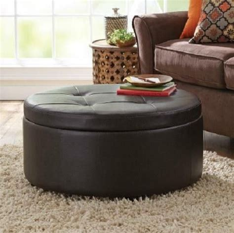 circle ottoman with storage circle ottoman with storage best storage design 2017