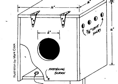 Great Horned Owl House Plans Crafters Great Horned Owl Bird House Plans Info