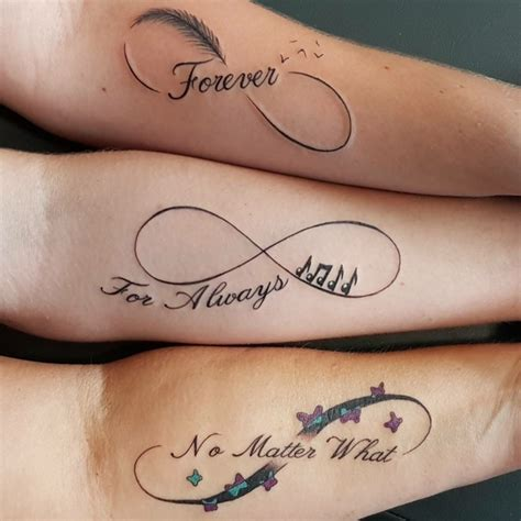 fotos de tatuajes de infinito con madre e hija 1001 ideas sobre dise 241 os de tatuajes para hermanas