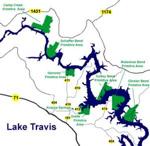 lake travis map