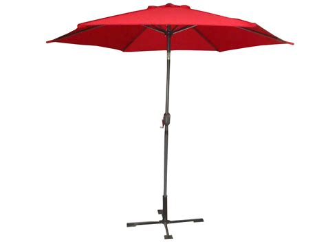 Outside Patio Umbrellas Palm Springs 9ft Aluminium Outdoor Patio Umbrella Garden Parasol