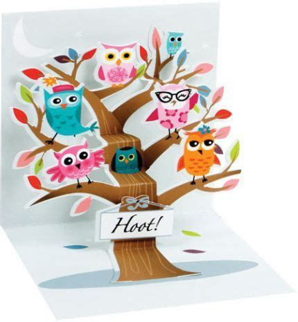 Owl Pop Up Card Template by 17 Best Ideas About Pop Up Cards On Pop Up