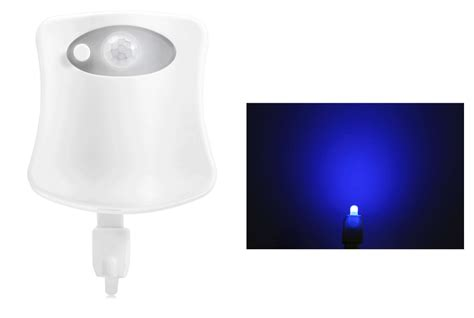 Infrared Bathroom Light Brelong Aaa Infrared Induction Led Toilet Light Bath Closestool White In Club Store