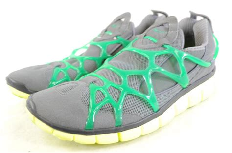 Nike Free Run Slip On nike free kukini grey green yellow slip on running shoe free flex ebay