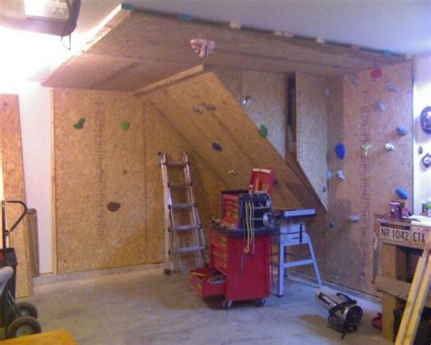 basement climbing wall diy projects