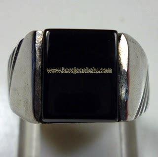 Cincin Batu Onyx Asli cincin batu black onyx asli berkualitas onik murah batu
