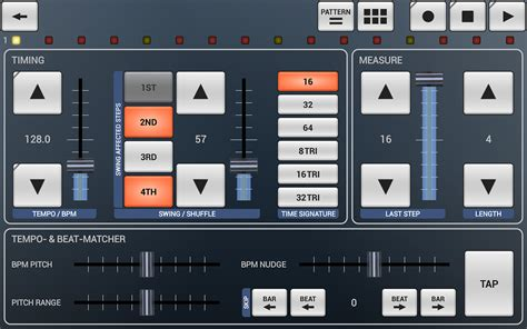 drum pattern android kvr g stomper rhythm by planet h com drum machine for
