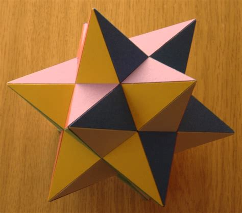 card models of polyhedra