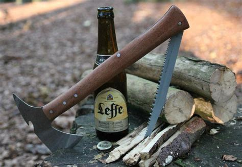 tomahawk for survival tomahawk survival axe that opens beers