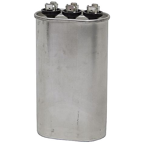 ac motor run capacitor calculation 45 5 mfd 370 vac oval dual run capacitor motor run capacitors capacitors