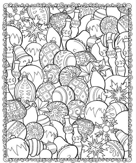 Boules De Noel Coloriage Dessin Mandala Pinterest Ornaments Coloring Pages For Adults