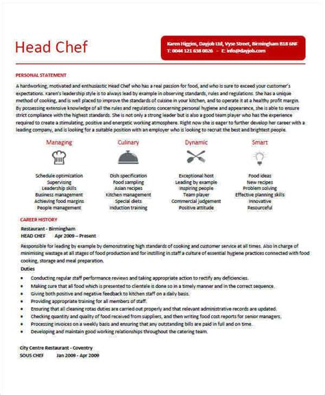 Executive Chef Resume by 35 Free Executive Resumes