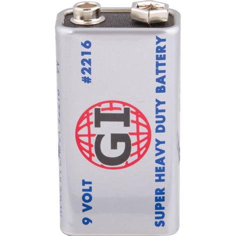 battery powered electronics 9 volt super heavy duty battery zzr7282b1 electronics
