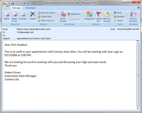 best photos of sle email confirming meeting meeting