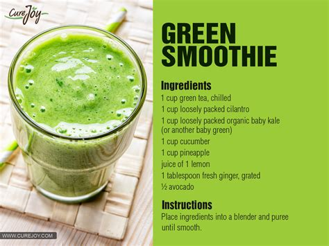 green drink are green smoothies good for weight loss