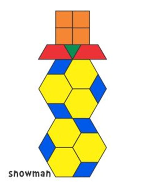 geometric pattern block templates 17 best images about math pattern block pictures on
