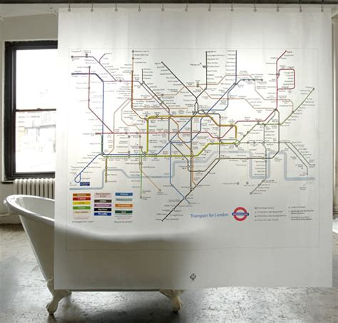 london underground shower curtain london underground shower curtain design milk