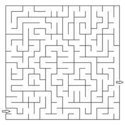 free kids maze coloring pages