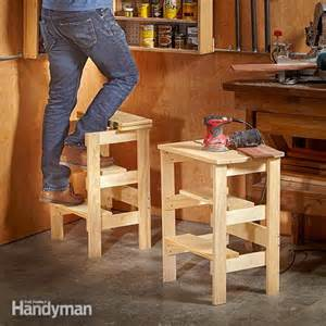 ridiculously simple shop stool plans the family handyman how much does it cost to build a metal workshop
