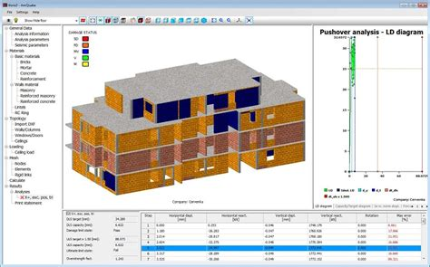 building design software online amquake earthquake seismic masonry design software