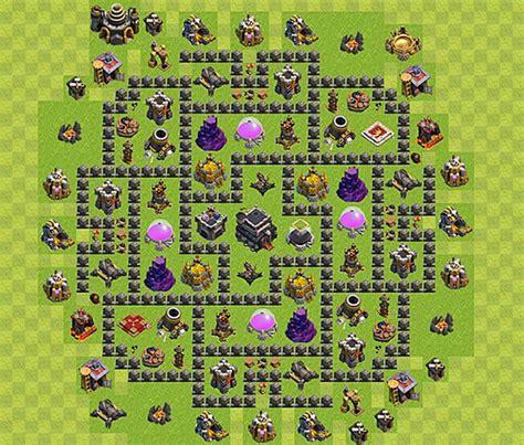 layout atualizado cv 9 dicas clash of clans como ter um layout de vila ce 227 o