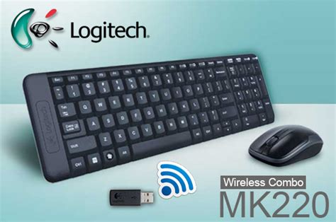 Keyboard Logitech Mk220 Logitech Mk220 Wireless Keyboard And Mouse Combo