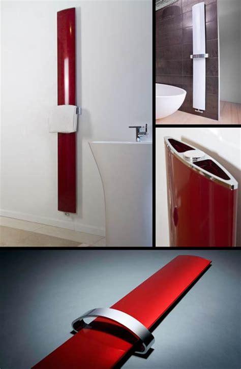 aluminium towel radiator bathroom radiator  red  white