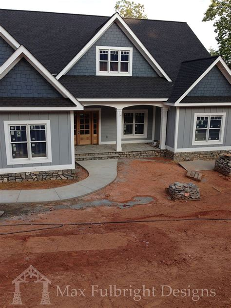 Craftsman Style House Plans With Walkout Basement by Craftsman Style Lake House Plan With Walkout Basement