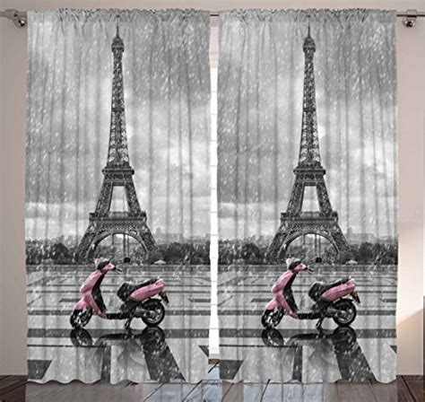 eiffel tower bedroom curtains paris curtains