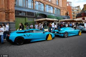 koenigsegg teal invasion of the bling ionaires daily mail online