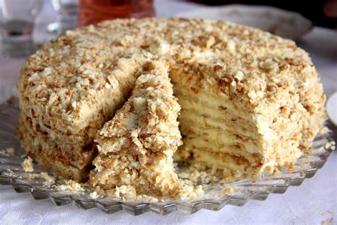 napoleon kuchen russisch торт наполеон без выпечки отдыхай классно