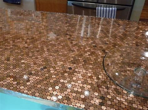 penny bar top diy 1000 ideas about penny countertop on pinterest penny