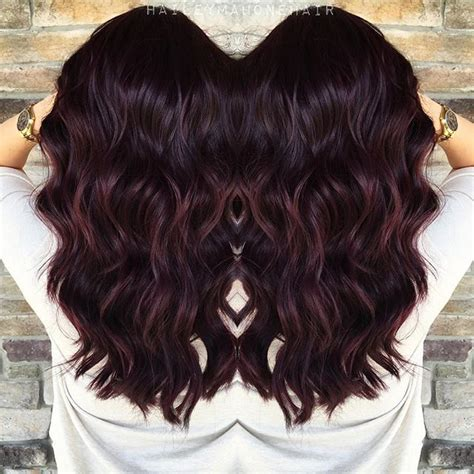 change dark mahogany brown hair to natural chocolate brown with highlights 17 mejores ideas sobre pelo caoba oscuro en pinterest