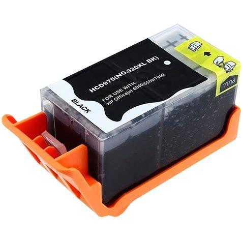 Tinta Genuineoriginal Hp 920 B cartucho de tinta hp 920xl 6000 6500 hp 920 xl preto compat 237 vel maior rendimento