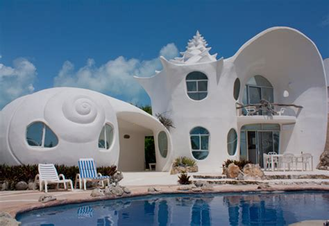 shell house isla mujeres airbnb weird and unusual tourist attractions in mexico