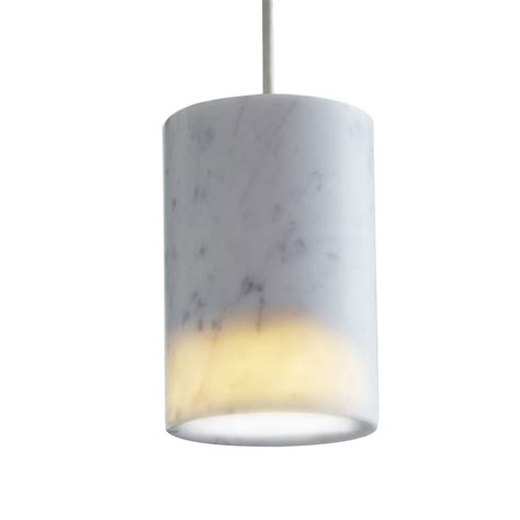 Terence Woodgate Solid Cylinder Pendant Light Cylinder Pendant Lighting