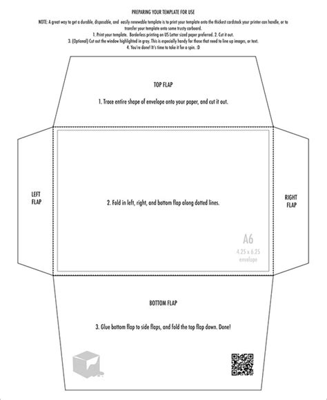 6 in by 10 in card template 4 215 6 envelope templates 9 free printable word pdf psd