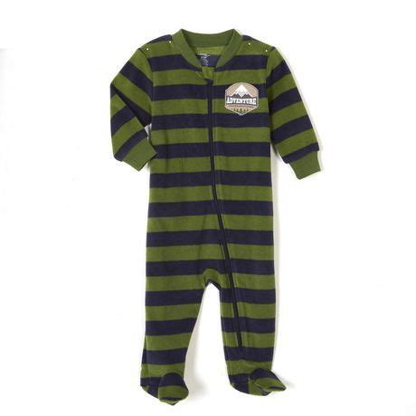 Zipper Sleepers by George Baby Boys Zipper Sleeper Walmart Canada