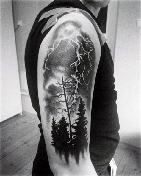 weather tattoo designs 60 thunderstorm designs for weather ink ideas