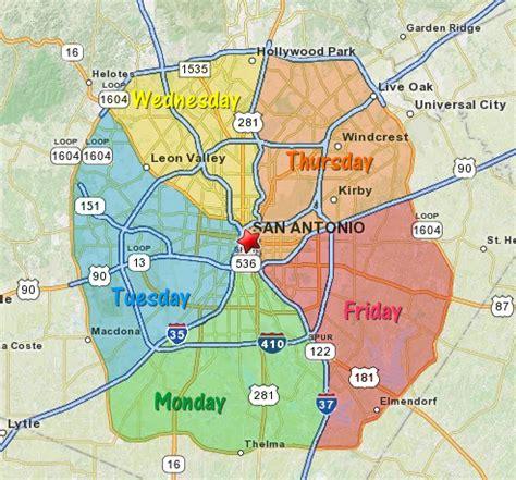 san antonio texas county map park san antonio map