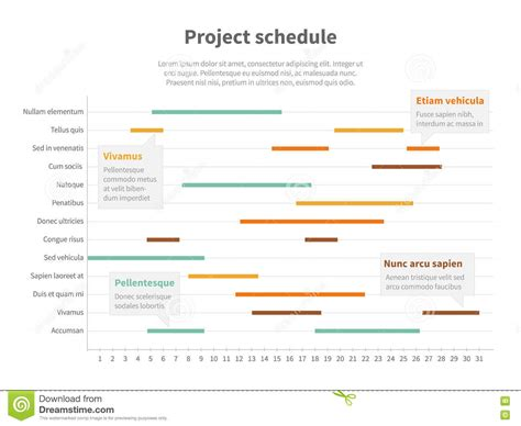 project planning graph project planning chart powerpoint
