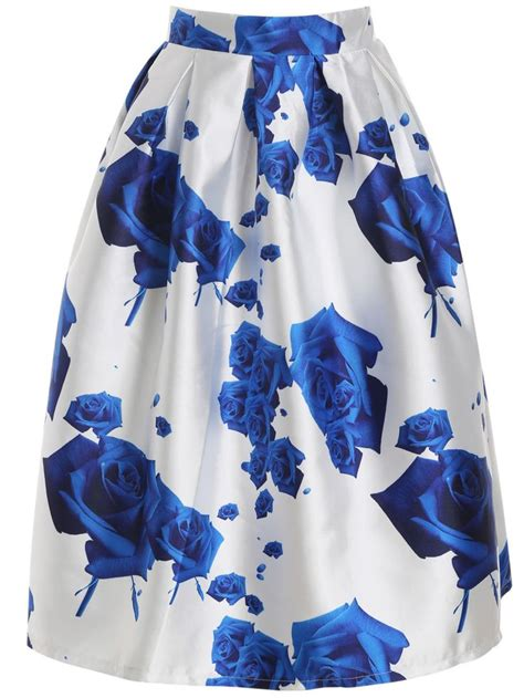A Sea Of Roses Flare Dress 1000 ideas about flared skirt on skater