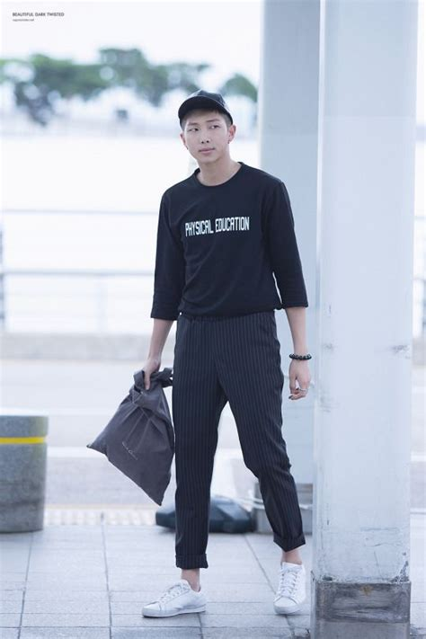 kim namjoon outfits 23 best images about bts rap monster airport fashion on