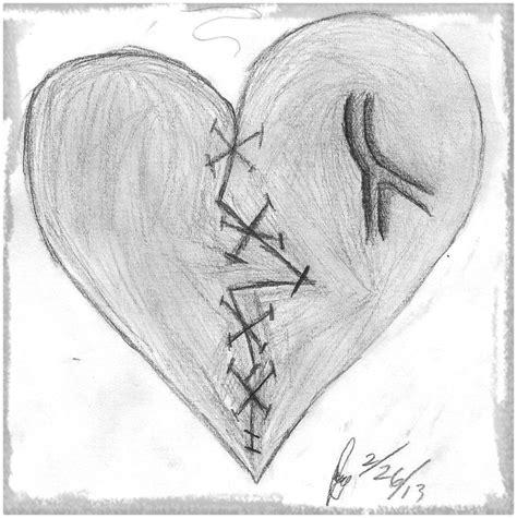 imagenes para dibujar a lapiz dibujos de corazones rotos a lapiz www imgkid com the