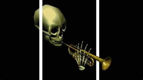 Doot Doot Meme - skull trumpet doot doot look guys i can make fancy gifs
