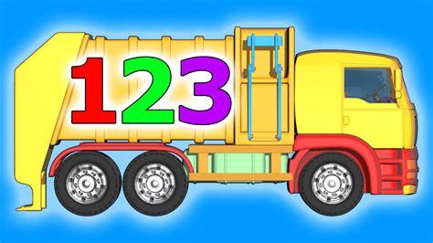 garbage trucks for kids binkie tv learn numbers garbage truck videos for kids