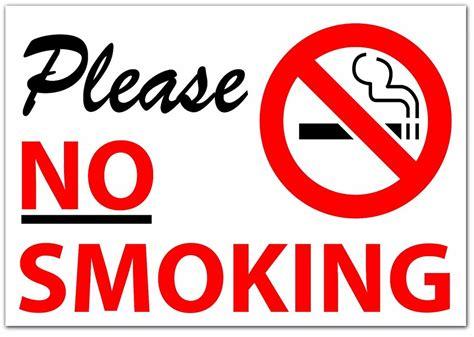 no smoking sign word please no smoking sticker sign vinyl decal modern words