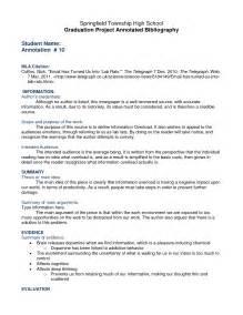 Essay Bibliography Exle by Essay Bibliography